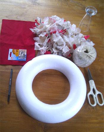 6 coronas de navidad m s un tutorial el bigote y la - Como decorar la corona de adviento ...