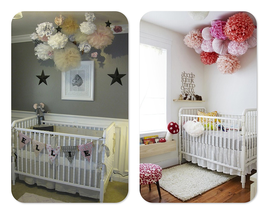 pompones-papel-seda-dormitorio-infantil