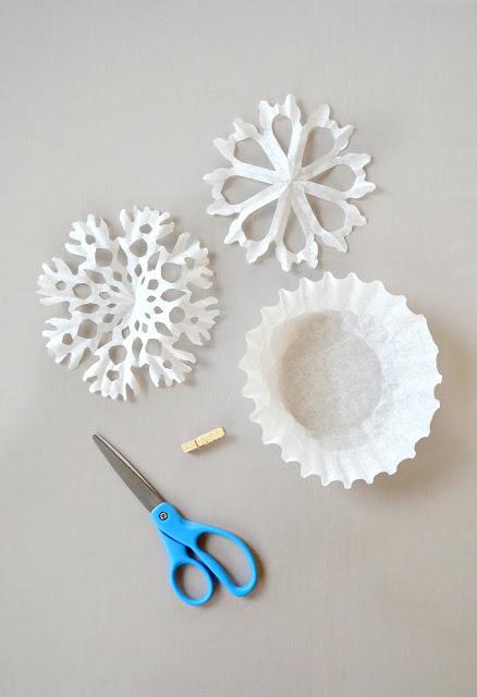 Guirnalda copo de nieve