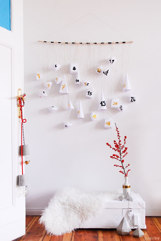 Geometric-Paper-Advent-Calendar