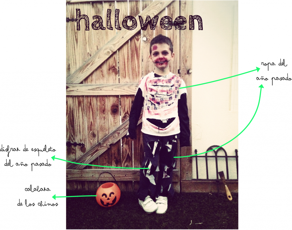 Disfraz de halloween