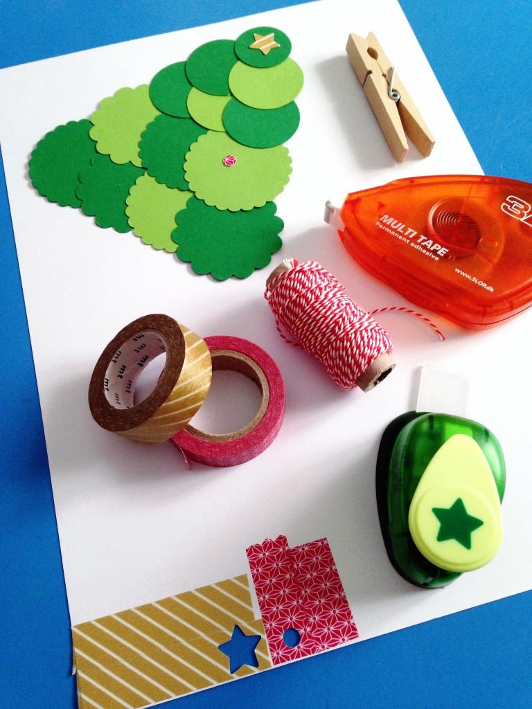 materiales-DIY-árbol-de-navidad