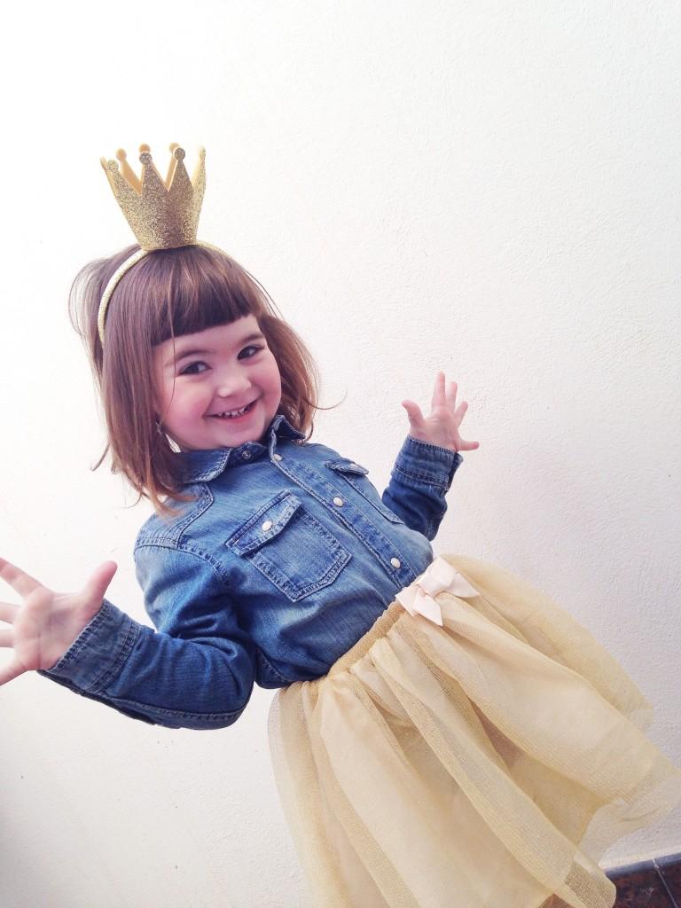 "Como conseguir un disfraz de princesa ""moderna"" y sacarle partido"