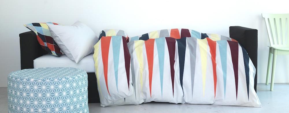 cama-pouf-geometrico-ikea