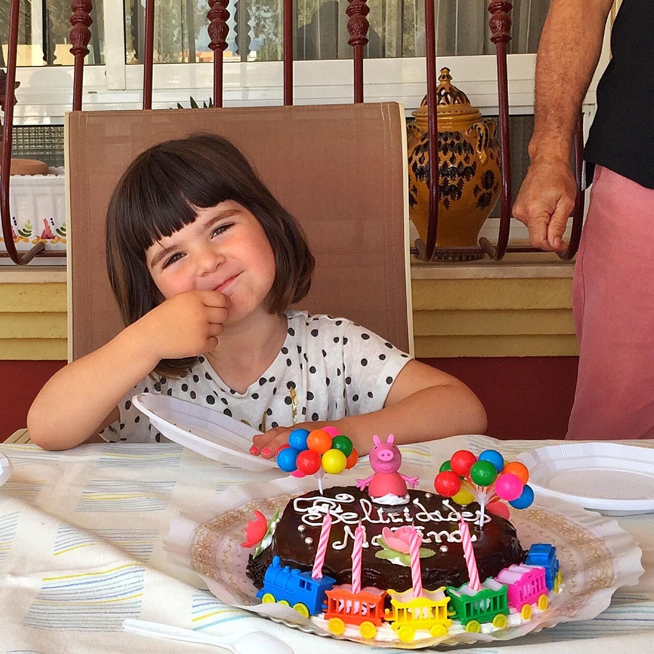 4º Cumpleaños de Martina