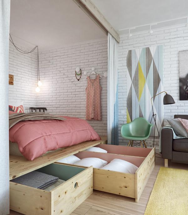 dormitorio en dos alturas 2