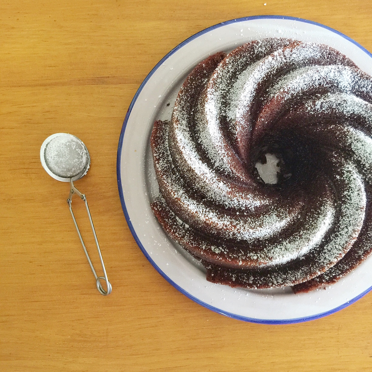 bund cake de chocolate 2