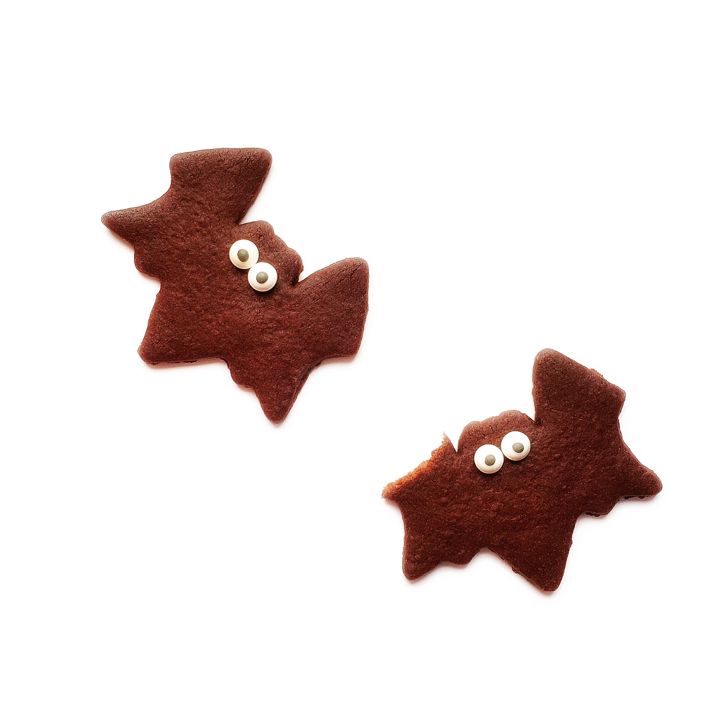 galletas chocolate halloween murcielagos