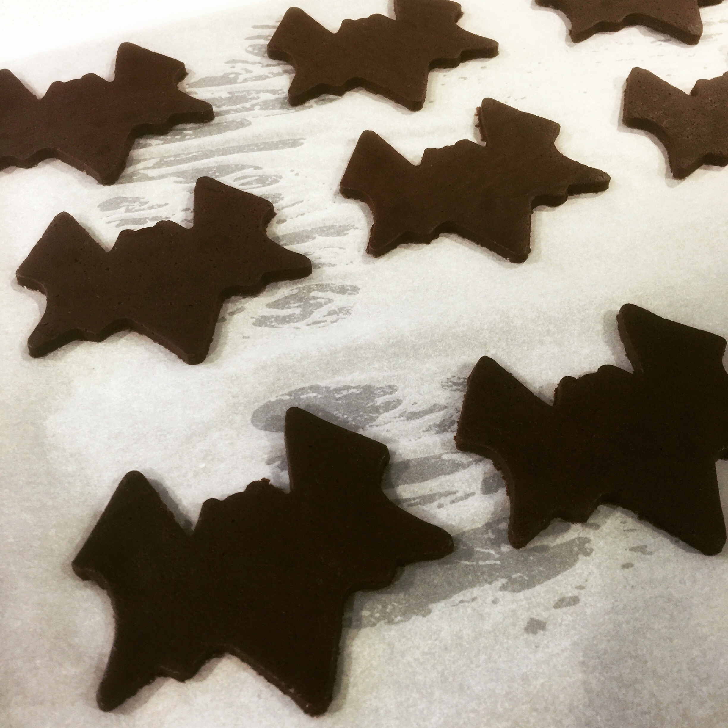 galletas de chocolate halloween