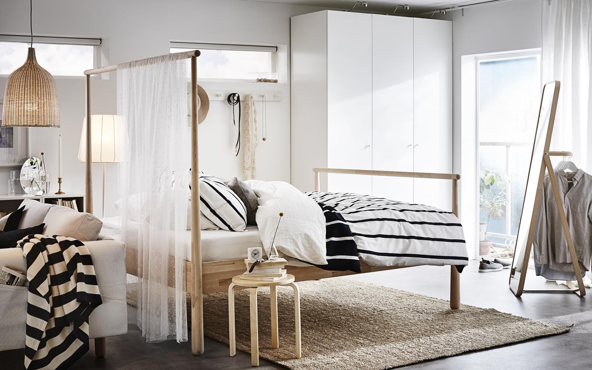 cama con percha gjora
