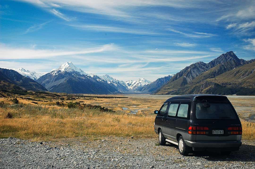 Paisajes para disfrutar en tu coche mientras viajas, podrás parar donde quieras