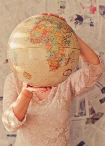 Bola del mundo para ver tu próximo destino