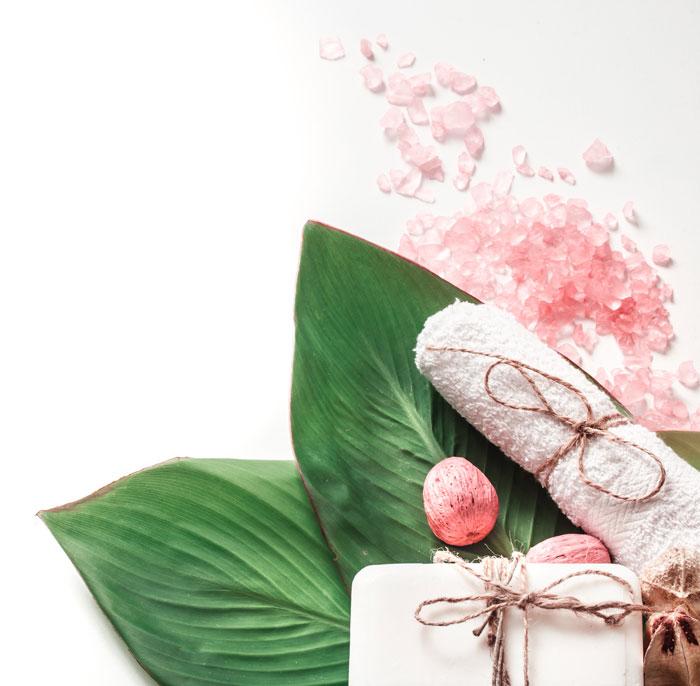 Cuarzo rosa en cosmética orgánica KORA Organics