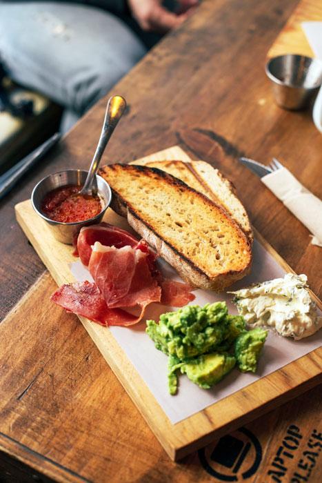 Desayuno saludable o brunch